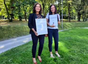 Beti d.d. prejela zlato nagrado za inovativno prejo DyeCare 1.0.
